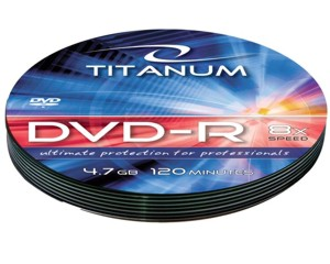 Titanum DVD-R [ soft pack 10 | 4.7GB | 8x ]