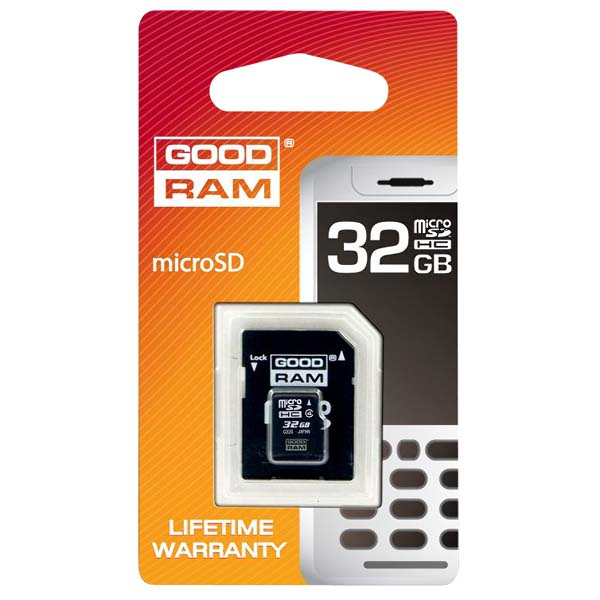Goodram Micro SD Karta 32GB